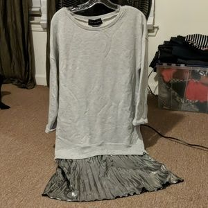 Know one cares sweater dress size small
